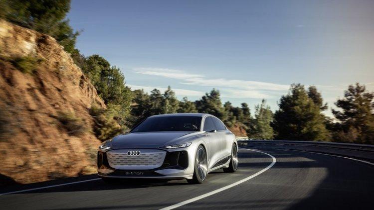 Die elektrische Oberklasselimousine von Audi kommt 2023 als A6 e-tron