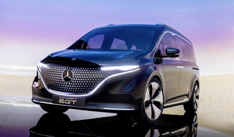 Der Mercedes EQT nimmt die neue T-Klasse vorweg