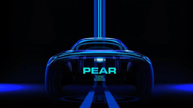 Autodesigner Fisker zeigt seine Idee vom kleinen Elektrofahrzeug als Fisker PEAR