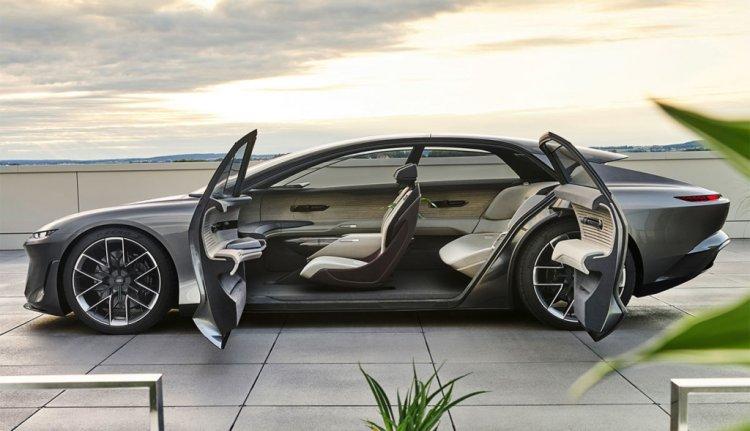 Autonomes Fahren mit dem luxuriösen Audi Grand Sphere Concept