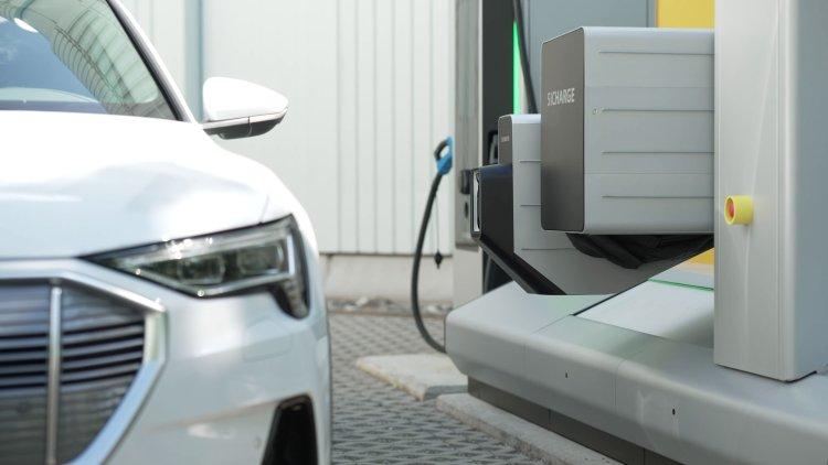 Automatisiertes Ladesystem von Siemens